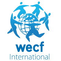 WECF logo white background